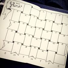 9 bullet journal monthly spread ideas worth coping crafts on fire