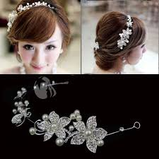 hair accessories headbands 2018 bridal hair accessories headbands promotion white pearl