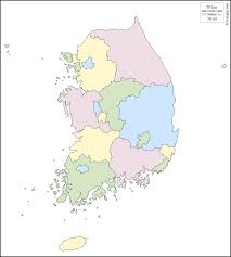 Map Of South Korea South Korea Free Map Free Blank Map Free Outline Map Free Base