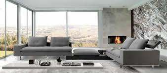canape gris design le canapé design italien en 80 photos pour relooker le salon