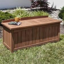 Outdoor Storage Coffee Table 4 Ft Teak Outdoor Backless Storage Bench Outdoor