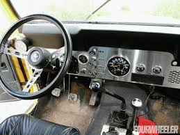 jeep interior jeep cj review and photos