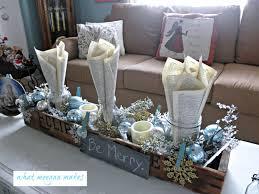 living room living room blue white christmas tree 1 jewcafes