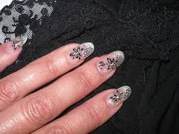 dessin sur ongle en gel passion u0027nail pose d u0027ongles en gel fleurs de pissenlit passion