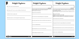 uks2 use hyphens to avoid ambiguity lesson idea and resource