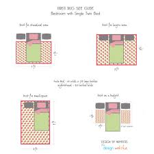 Standard Sizes Of Area Rugs by How To Place A Rug In A Bedroom Twin Bed Against Wall Google