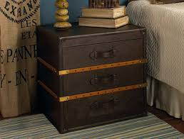 trunk style bedside tables trunk style side table nrhcares com
