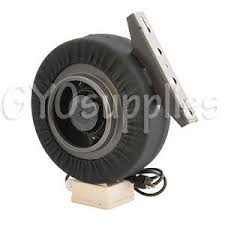carbon air filter grow room 6 duct blower centrifugal inline exhaust fan for grow room carbon