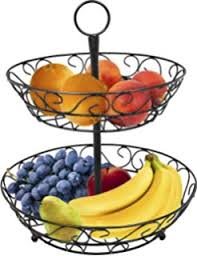 fruit basket stand surpahs 2 tier countertop fruit basket stand kitchen