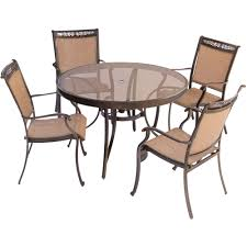 Dinette Chairs by Fontana 5 Piece Dining Set With Four Stationary Dining Chairs And