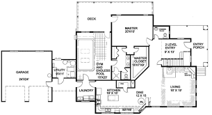 house plans with indoor swimming pool landscaping around pools 1st level luxurious traditional chalet