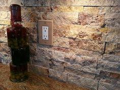 Natural Stone Backsplash Tile by Stacked Stone Backsplash Dream Home Pinterest Stacked Stone