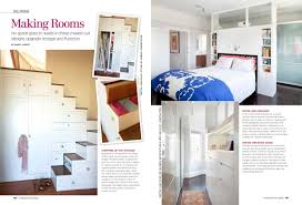 new feature in small room decorating magazine jeff king and