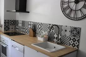 credence cuisine design carrelage credence cuisine design idées décoration intérieure