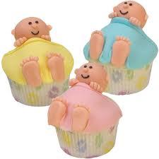 crib cuddlers baby shower cupcakes wilton