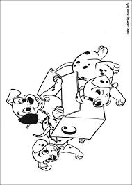 dalmatians coloring picture