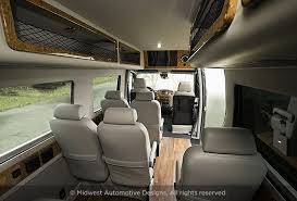 Conversion Van Accessories Interior Mercedes Luxury Van Midwest Automotive Designs