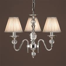 Odeon Crystal Chandelier 3 And 5 Arm Chandeliers From Easy Lighting