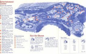 Map Of Universal Studios Theme Park Brochures Universal Studios Hollywood Theme Park