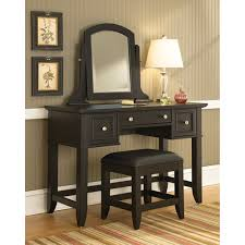 Make Up Dressers Makeup Dresser With Mirror Awesome Modern Design Black Stained