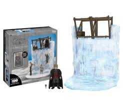 amazon com funko game of thrones the wall playset with tyrion