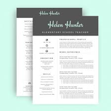 1 Page Resume Templates Resume Template Cv For Word Two Page Cover Il Full Saneme