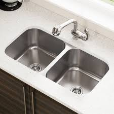 Ikea Kitchen Sinks And Taps by 3218a 18 Gauge Undermount Equal Double Bowl Stainless Steel
