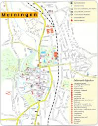Schweinfurt Germany Map by Guide To Bach Tour Meiningen Maps