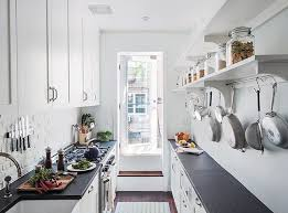 kitchen styling ideas small modern galley kitchen styling ideas with white dominant