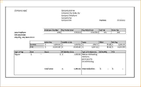 5 free pay stub timeline template