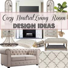 styled adventures cozy neutral living room design ideas