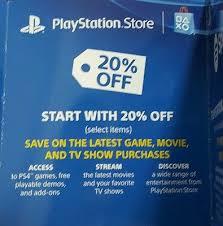 no more lines 20 psn discount codes ps4