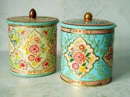 vintage canisters for kitchen diy vintage canisters picmia