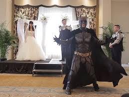 batman wedding dress batman a iron and more attempt to stop wedding