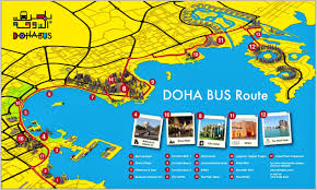 Doha Map Doha Is A Fast Changing City That Has It U0027s Feet Planted In