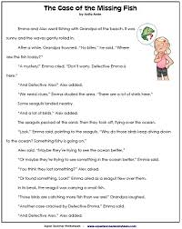 reading comprehension grade reading comprehension worksheets 2nd grade