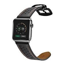 amazon apple watch black friday amazon com kartice for apple watch band luxury genuine leather