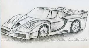 photos simple pencil sketches of cars drawing art gallery