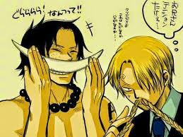 One Piece Memes - anime memes ace and sanji one piece memes