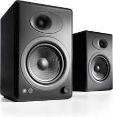 Bookshelf Speakers Wiki Audioengine A5 Black Premium Powered Bookshelf Speakers At