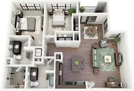 Modern Three Bedroom House Plans - 50 two