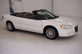 2004 Chrysler Sebring Convertible Interior Pre Owned 2004 Chrysler Sebring Lxi 2d Convertible In Paris