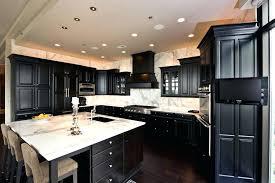 Kitchen Design Black And White Black Laminate Kitchen Cabinets Black And White Floating Kitchen