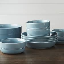 hue blue dinnerware crate and barrel