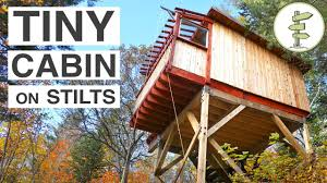 summer c cabins beautiful treehouse style cabins on stilts full tour youtube
