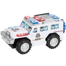 remote control police car with lights and siren remote control light up rc racing car toy 27mhz w flashing led