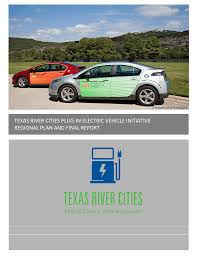 texas river cities plug in electric vehicle initiative