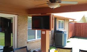 Tv Mount For Window Mount Tv Outside Outside Tv Good Sounds Pinterest Tvs Patios And