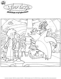 cyberchase coloring pages pbs parents