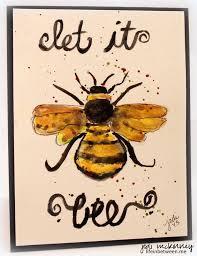 25 bee art ideas honey bee drawing tin art